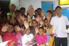 Alan - with garland India